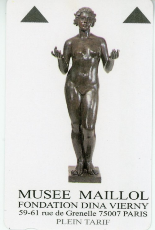 Paris - Musee Maillol Ticket