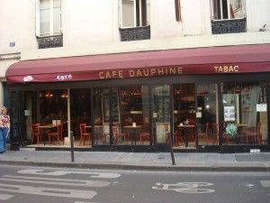 Our first meal at the Cafe Dauphine