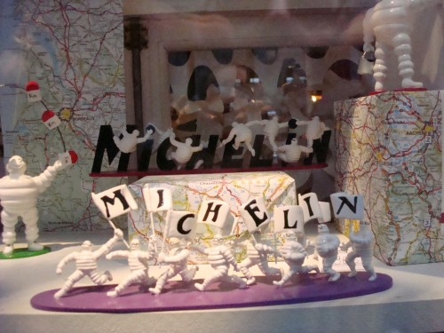 Paris - Michelin figurines