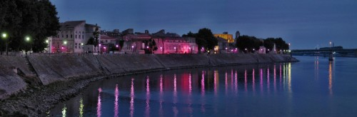 Arles Rhone Starry Night Location
