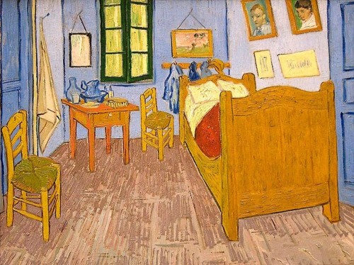 Van Gogh Bedroom in Yellow House