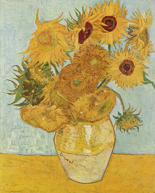 Van Gogh Sunflowers for Gauguin