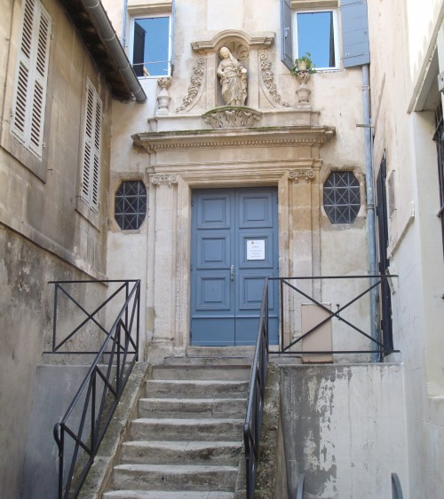 Arles - govt office entrance