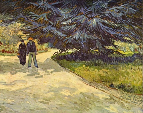 Couple in the Park Arles