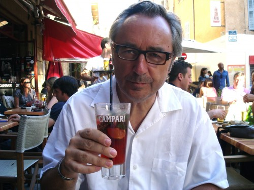 Aix - Cafe Bouddoir Campari Andy