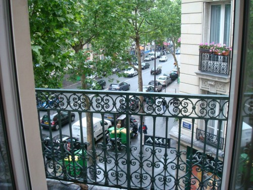 Paris - view from hotel window