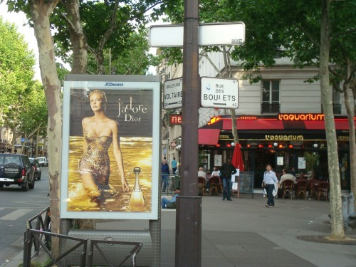 Paris - J'adore board