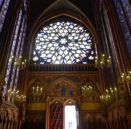 La Sainte-Chapelle Rose Window
