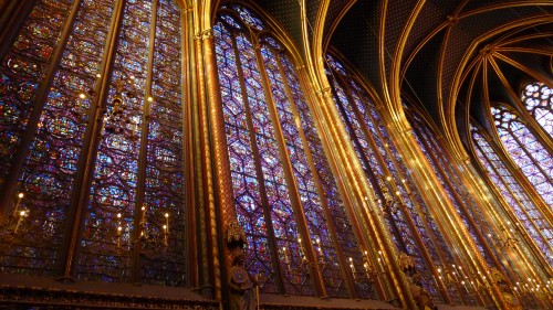 Windows of La Sainte-Chapelle