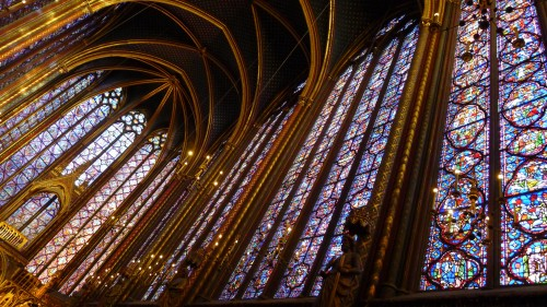 La Sainte-Chapelle windows