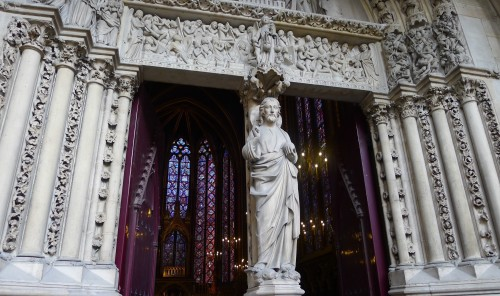 Entrance to La Sainte-Chapelle