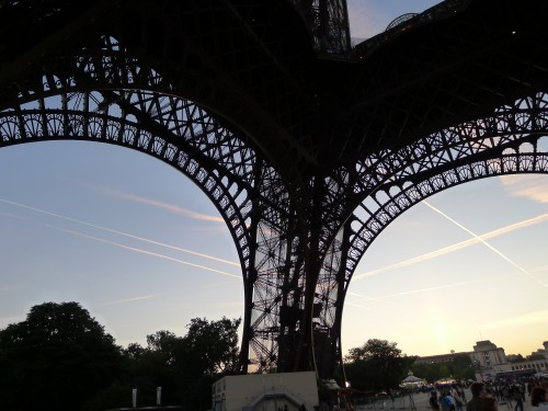 Eiffel Tower lace
