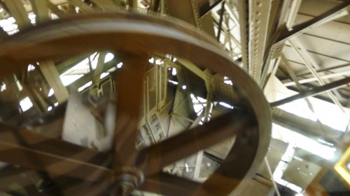 Eiffel Tower driving wheel