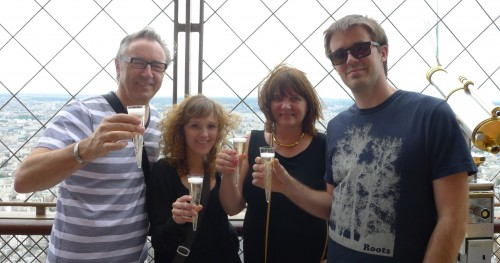Eiffel Tower Champagne