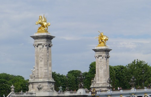 The Fames on the Pont Alexandre III
